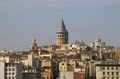 Galata Kontrollturm, Istanbul Lizenzfreies Stockfoto