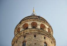 Galata Kontrollturm in Istanbul Lizenzfreies Stockbild