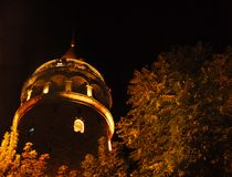 Galata Kontrollturm, Istanbul - die Türkei Stockfoto
