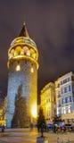 Galata Kontrollturm, Istanbul, die Türkei lizenzfreies stockbild