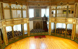 Galata Mevlevi Lodge. Mevlevi Whirling Dervish Hall in Galata Mevlevi Lodge,also known as Museum of Court Literature in Istanbul,Turkey Royalty Free Stock Photo