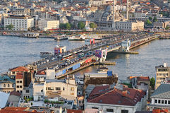 Galata most, Istanbuł obrazy royalty free