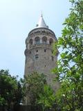 Galata torn royaltyfri fotografi