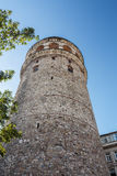 Galata tower. The Galata Tower — called Christea Turris (the Tower of Christ in Latin) by the Genoese — is a medieval stone tower in the Galata/ stock image