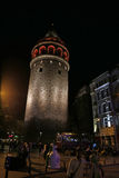 Galata Tower and Area Royalty Free Stock Photo