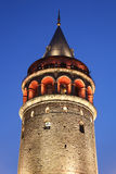 Galata Tower in Beyoglu, Istanbul City Royalty Free Stock Photography