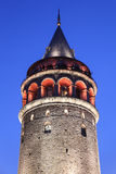 Galata Tower in Beyoglu Stock Photo