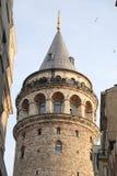 Galata Tower in Beyoglu, Istanbul City Stock Photography