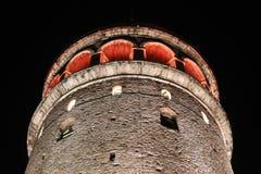 Galata Tower in Beyoglu, Istanbul City Royalty Free Stock Photos