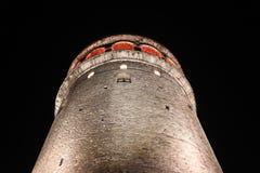 Galata Tower in Beyoglu, Istanbul Stock Photo