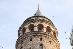 Galata Tower in Beyoglu, Istanbul Stock Photography