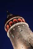 Galata Tower in Beyoglu, Istanbul City Stock Photos