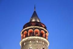 Galata Tower in Beyoglu, Istanbul. City, Turkey royalty free stock photos