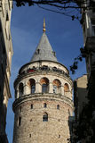 Galata Tower in Beyoglu, Istanbul, Turkey. Galata Tower in Beyoglu, Istanbul City, Turkey Royalty Free Stock Photo