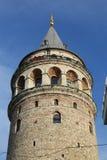 Galata Tower in Beyoglu, Istanbul, Turkey. Galata Tower in Beyoglu, Istanbul City, Turkey Royalty Free Stock Image