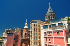Galata Tower Stock Photo