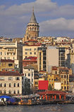 Galata Tower stock images