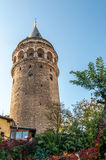 The Galata Tower (Galata Kulesi) Stock Photography
