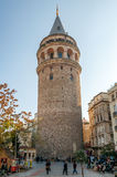 The Galata Tower (Galata Kulesi) Stock Images