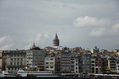 Galata Tower in Instanbul, Turkey stock photos