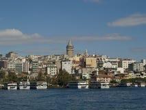 Galata Tower. Istambul, Galata Tower and its neighbarhoud Stock Photography