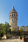 Galata Tower in Istanbul Stock Photography