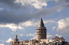 Galata Tower, Istanbul Royalty Free Stock Images