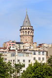 Galata Tower in Istanbul Royalty Free Stock Photo