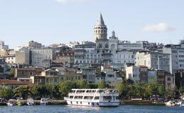 Galata tower. Istanbul Stock Photo