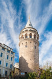 Galata Tower, in Istanbul Royalty Free Stock Images