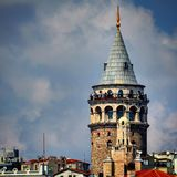 The Galata Tower Royalty Free Stock Image