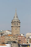 Galata Tower in Istanbul Royalty Free Stock Photos