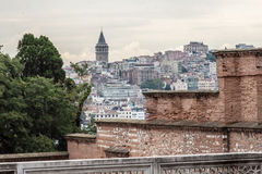 Galata Tower Istanbul Royalty Free Stock Photos