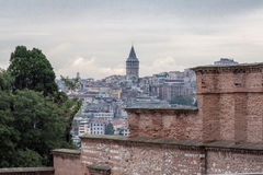 Galata Tower Istanbul Stock Photography