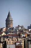 The Galata Tower (Istanbul, Turkey) Stock Images