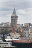 Galata tower in Istanbul Royalty Free Stock Image