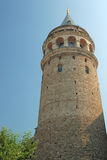 Galata tower in Istanbul Stock Images