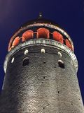 The Galata Tower. Galata Tower istanbul, Turkey Stock Photography
