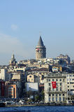 Galata Tower, Istanbul, Turkey Stock Image