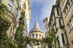Galata Tower, Istanbul, Turkey Stock Images