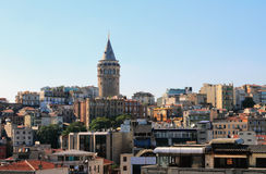 Galata tower. Istanbul, Turkey Stock Images