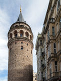 Galata tower in Istanbul, Turkey Stock Photos