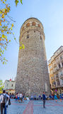 Galata Tower Istanbul Royalty Free Stock Photography
