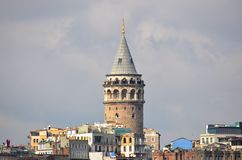 Galata Tower, Istanbul views Stock Photos