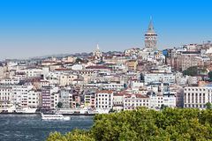 The Galata Tower Royalty Free Stock Photos