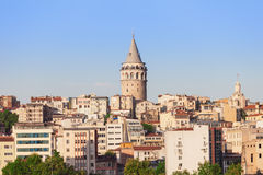 The Galata Tower Stock Image