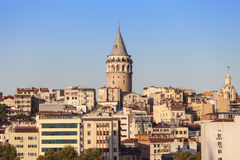 The Galata Tower Stock Photos