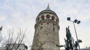 Galata Tower, Beyoglu, Istanbul, Turkey stock image
