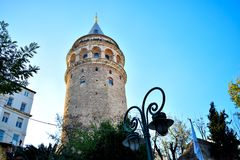 Galata Tower. One with the Galata Tower in İstanbul @ifurkanenes Royalty Free Stock Photography
