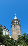 Galata Tower taken in Istanbul, Turkey Royalty Free Stock Photography